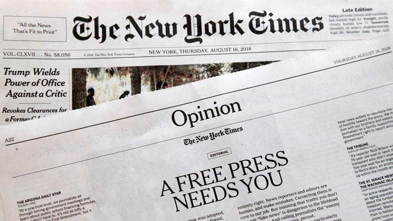 New York Times A Devenit Gratuit